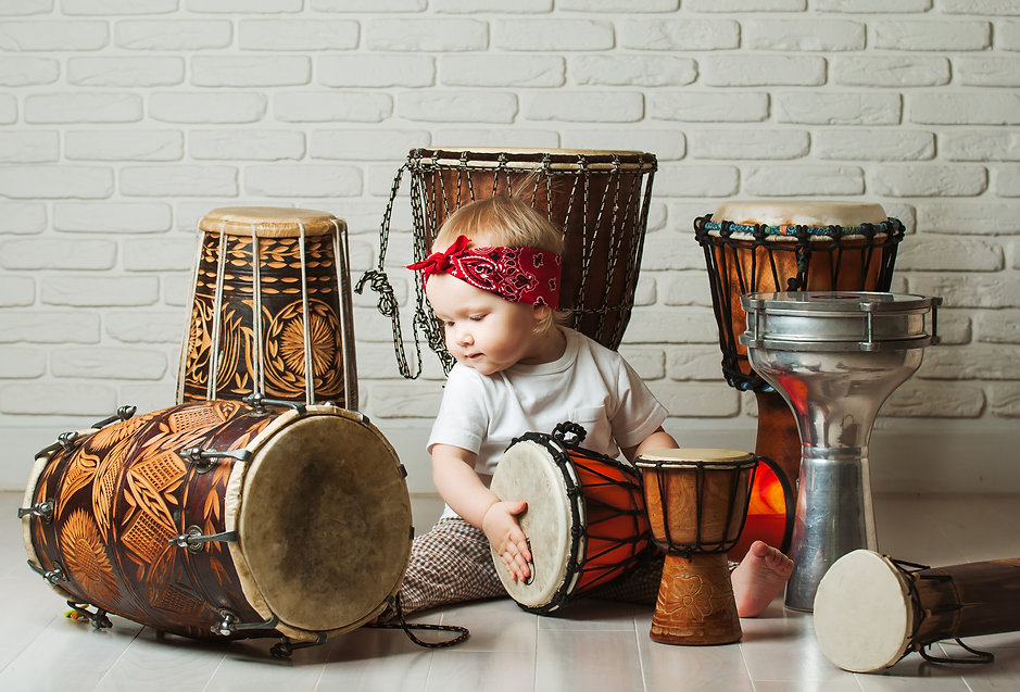 Kidz Live Baby and toddler music classes Baby Drummers