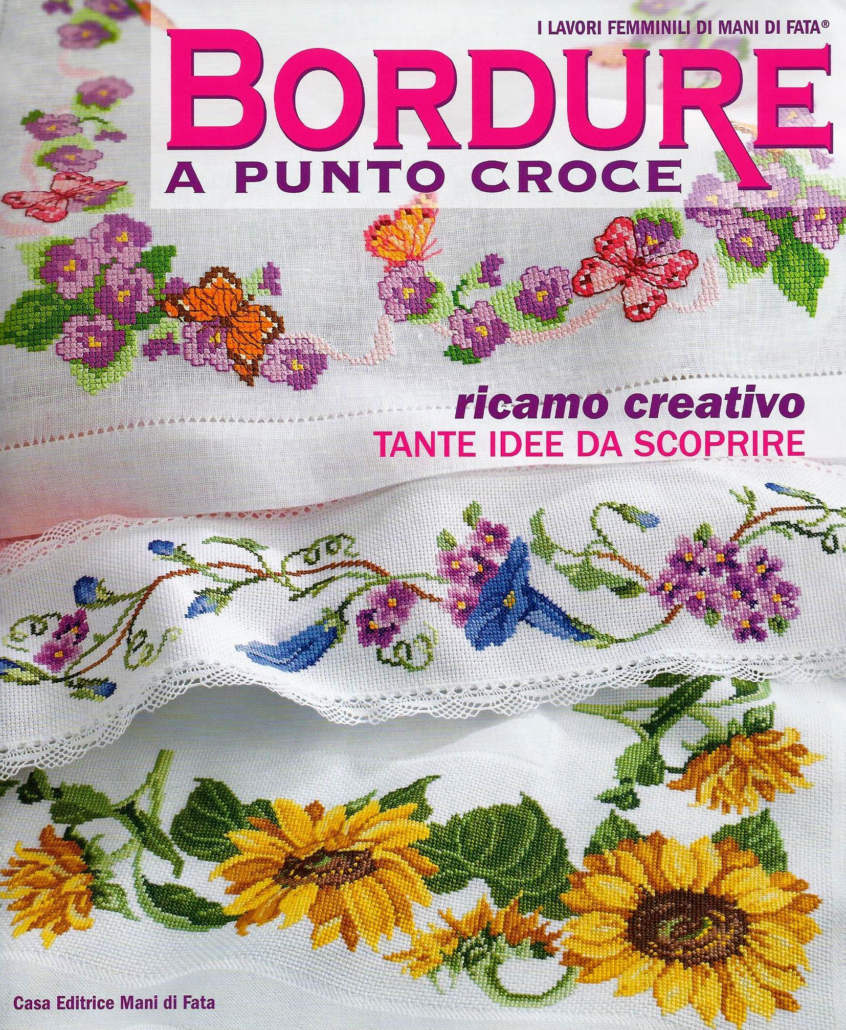 BORDURE A PUNTO CROCE. - Kč 290