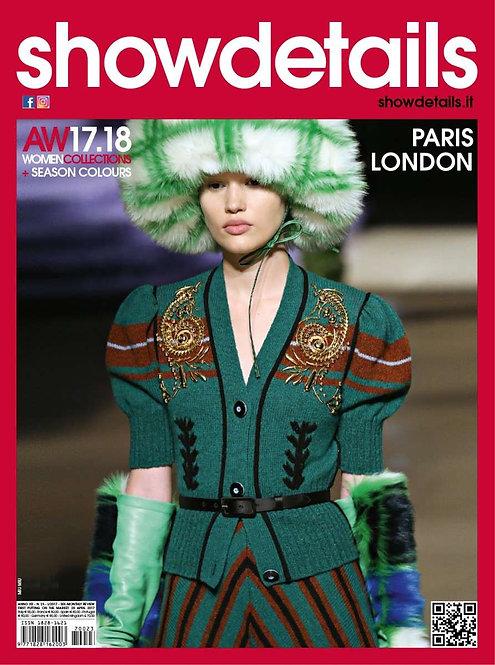 SHOW DETAILS PARIS/LONDON