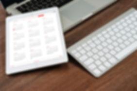 Canva - White Caledar on Laptop Computer