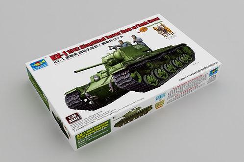 KV-1 1942 simplified turret tank w/tank crew
