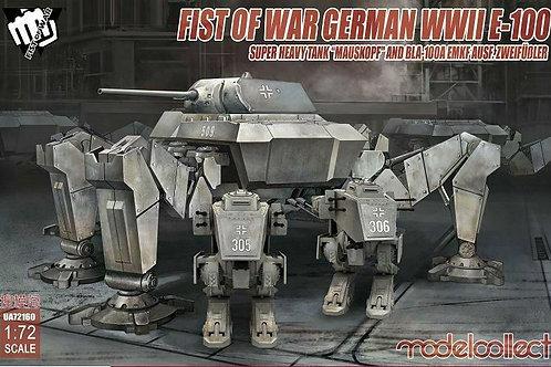Fist of war German WWII E-100 super heavy tank