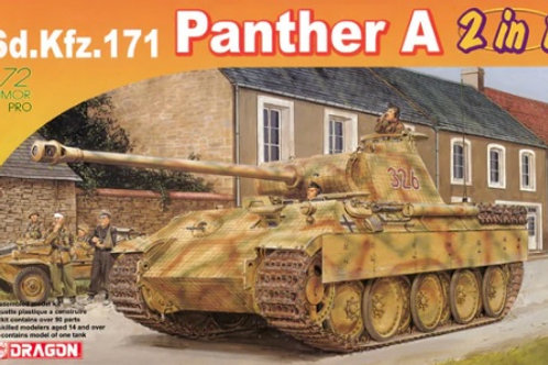 Sd.KFZ 171 Panther A 2in1