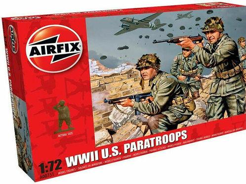WWII U.S Paratroops