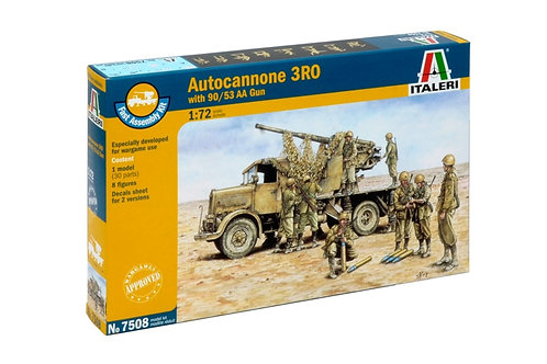 Autocannone 3RO with 90/53 AA Gun