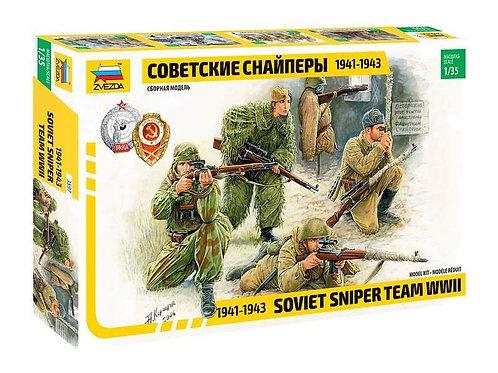 Soviet sniper team 1941-1943