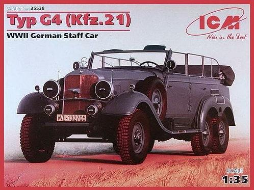 Typ G4 WWII German staff car