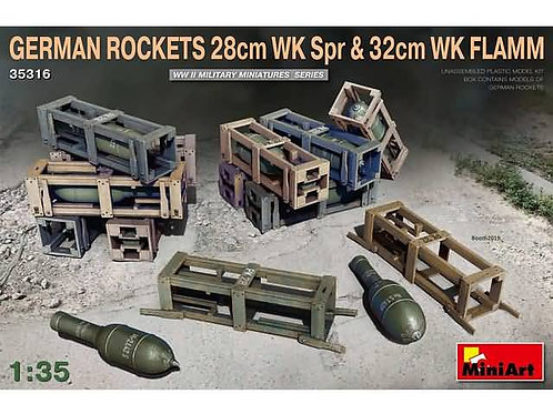 German rockets 28cmWK spr & 32cm WK Flamm