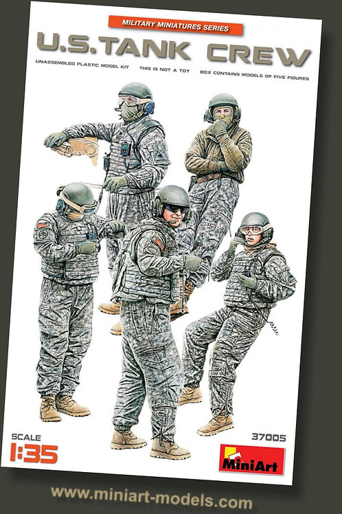 U.S tank crew