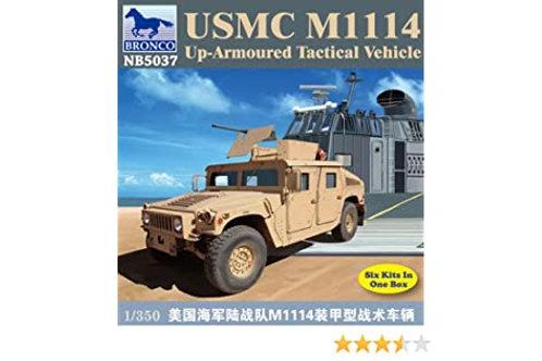 USMC M1114 Up-armoured tactical vehicle