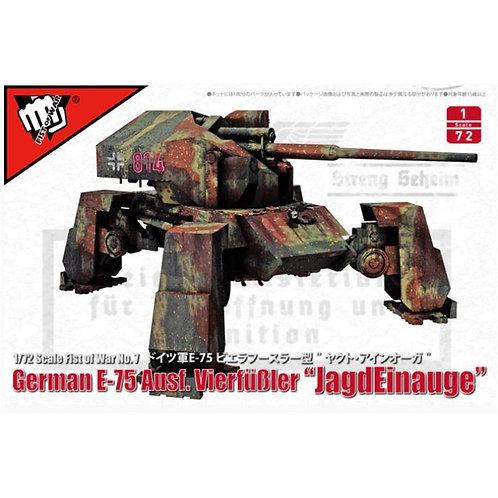 German E-75 Ausf. vierfubler 'Jagdeinauge'