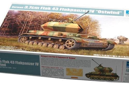 German 3.7cm Flak 43 Flakpanzer IV 'Ostwind'