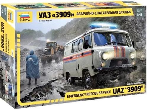 Emergency rescue service 'UAZ'