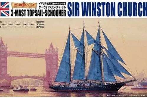 Sir Winston Churchill 3-mast topsail-shooner