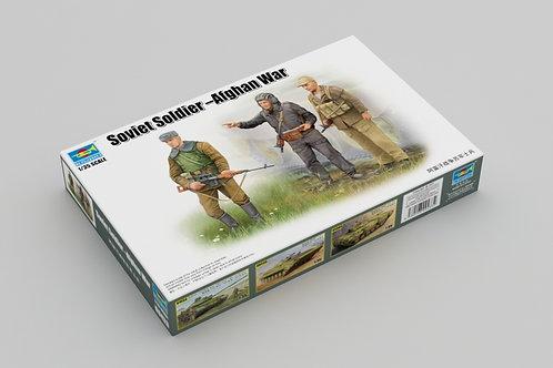 Soviet soldier-Afghan war