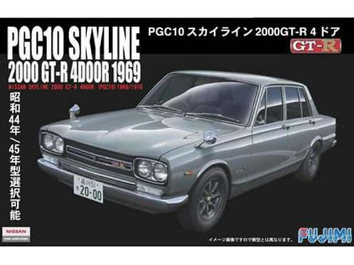 Nissan Skyline GT-R 4 door 1969