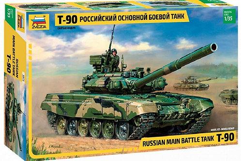 Russian main battle tank T-90