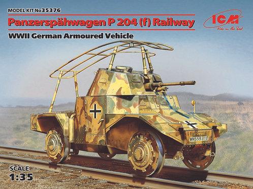 Panzerspähwagen P204(f) railway