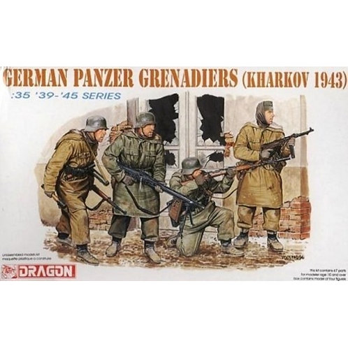 German Panzer Grenadiers (Kharkov 1943)