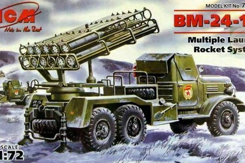 BM-24-15 Multiple launch rocket system