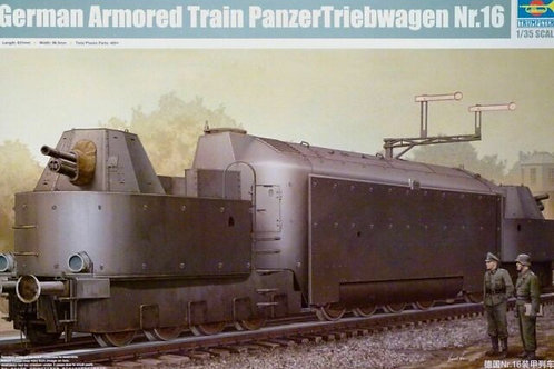 German armored train panzertriebwagen nr 16