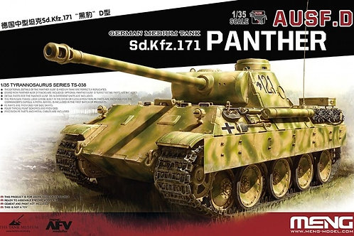 German medium tank sd.Kfz.171 Panther