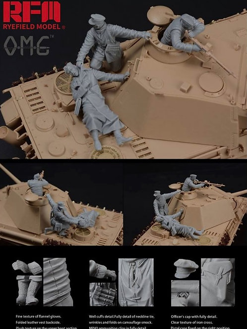 Figures for Panther G , fallen resin