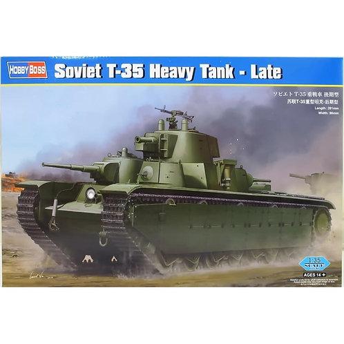 Soviet T-35 heavy tank - late