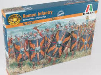 Roman infantry Cesar's wars