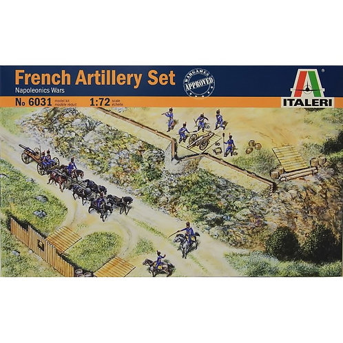 French artillery set