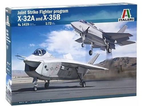 Joint strike fighter program X-32A and X-35B