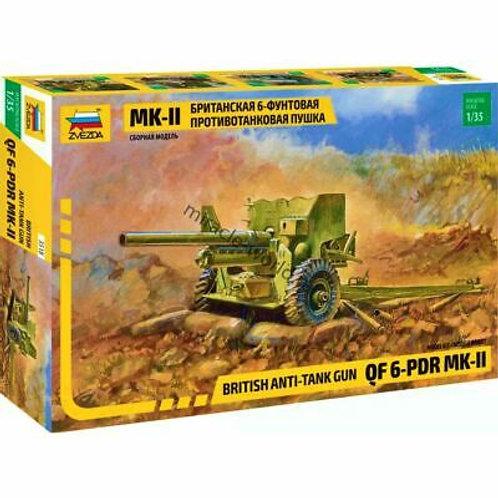 British anti-tank gun 6-pdr