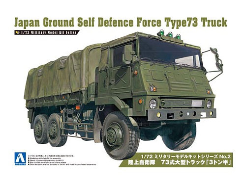 Japan ground self defence force type 73 truck