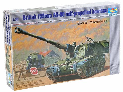 Britisch 155mm AS-90 self-propelled howitzer