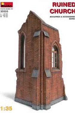 Ruined church ruin