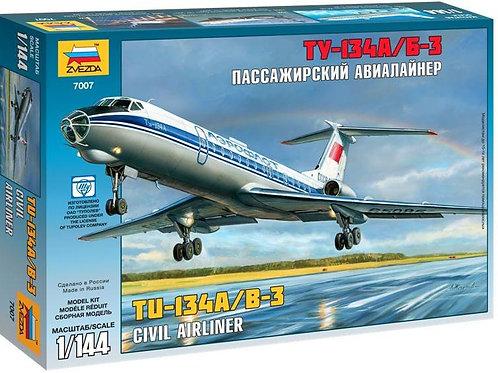 Civil airliner TU-134A/B-3