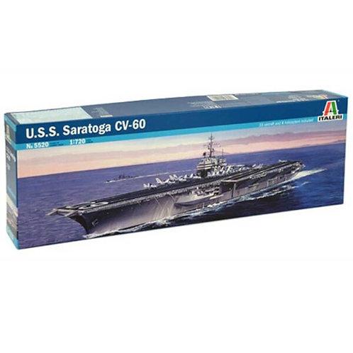 U.S.S. Saratoga CV-60