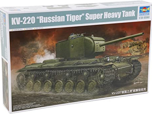 "KV-220 ""Russian Tiger"" super heavy tank"