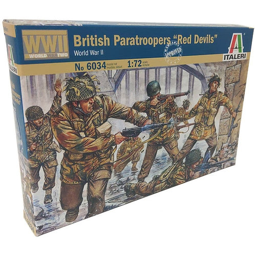 "British paratroopers ""Red Devils"""