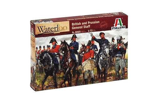 British and Prussian General staff