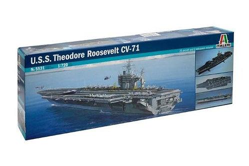 U.S.S. Theodore Roosevelt CV-71