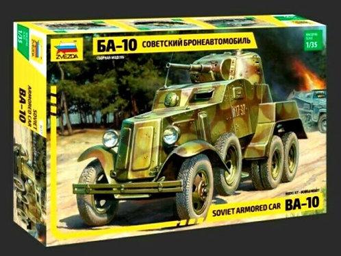 Soviet armored car BA-10