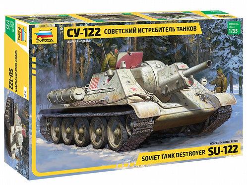 SU - 122 Soviet tank destroyer
