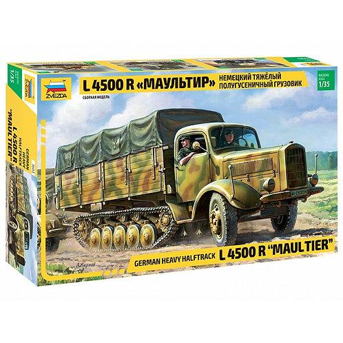German heavy halftrack L 4500 R Maultier