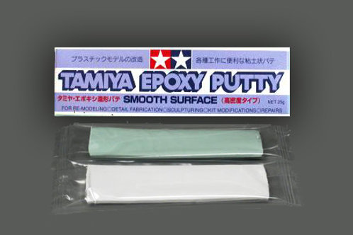 Epoxy putty smooth surface