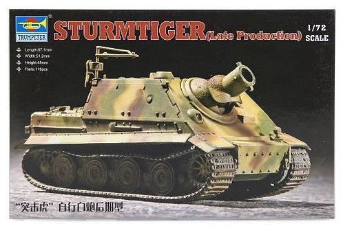 Sturmtiger assault mortar late production
