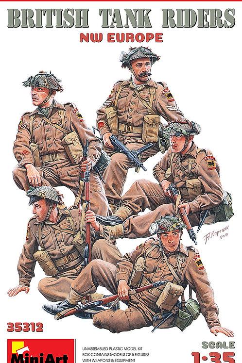 British tank riders NW Europe