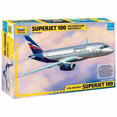 Civil airliner Superjet 100