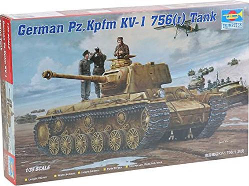 German Pz. Kpfm KV-1 756 tank