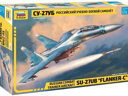 Russian combat trainer aircraft SU-27UB